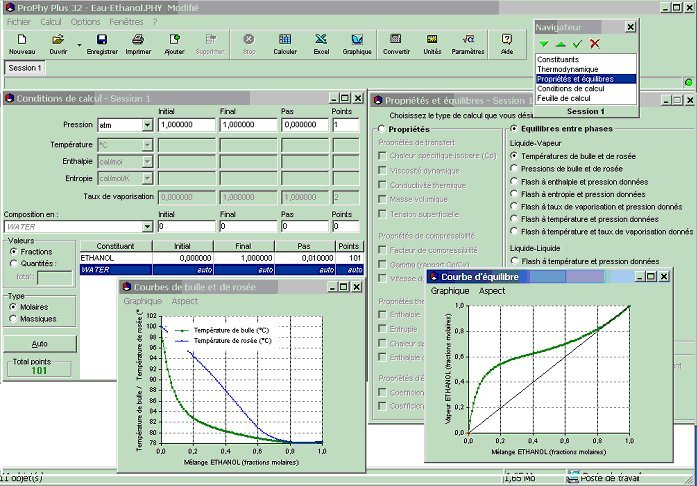 Online course and simulator for engineering thermodynamics